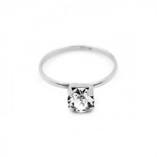 Silver Ring Minimal Basic