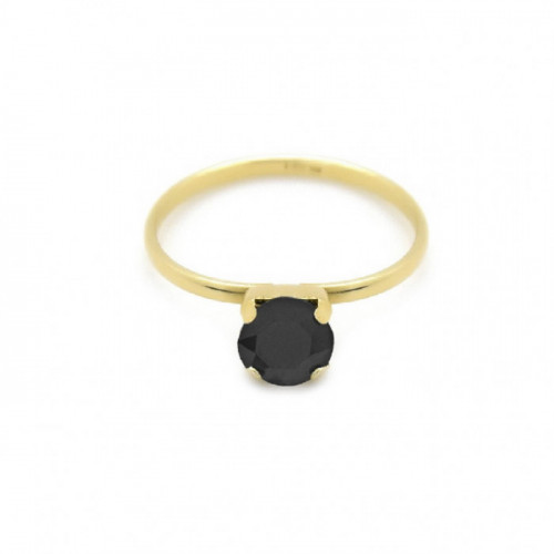Gold Ring Celine Jet