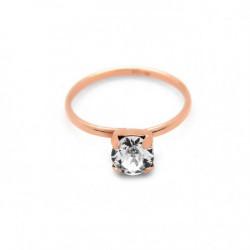 Pink Gold Ring Minimal Basic