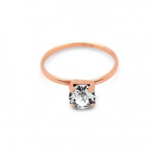 Pink Gold Ring Minimal Basic