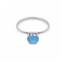 Silver Ring Celine M