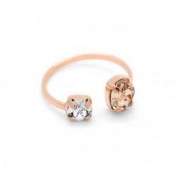 Pink Gold Ring Celine open