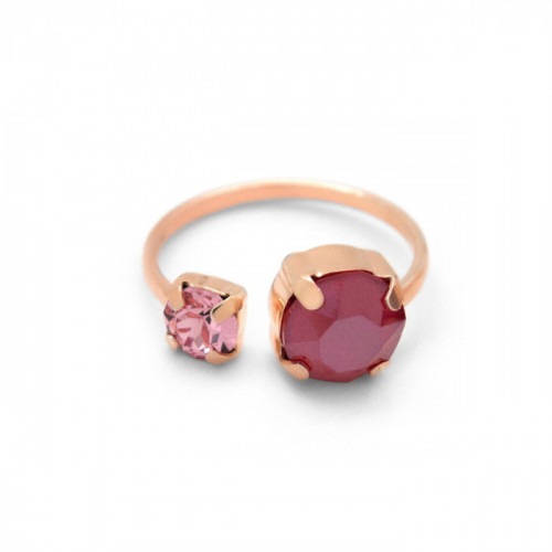 Pink Gold Ring Celine You and I