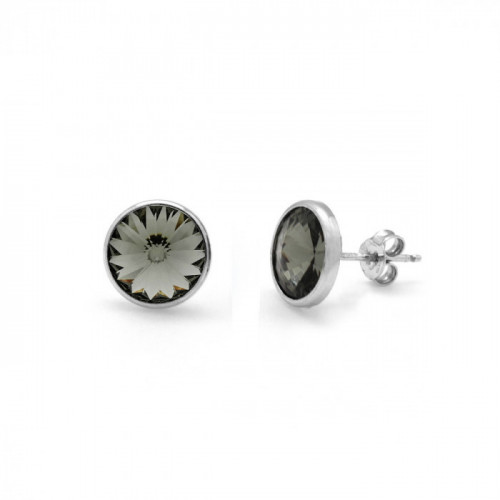 Silver Earrings Basic S