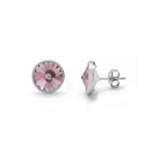 Silver Earrings Basic S