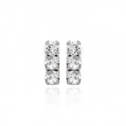 Silver Earrings Celine minis