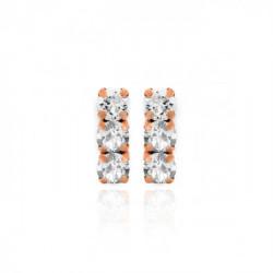 Pink Gold Earrings Celine minis