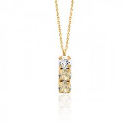 Collar light silk de Celine en oro