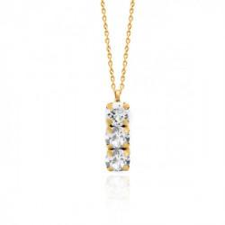 Collar crystal de Celine en oro