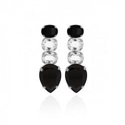 Silver Earrings Aura