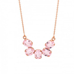 Collar Celine Aura oro rosa