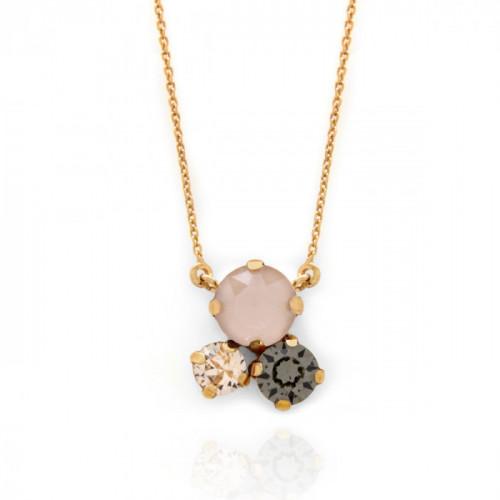 Collar Celine circles oro
