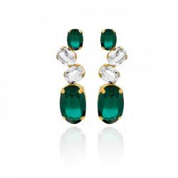Gold Earrings Celine Aura