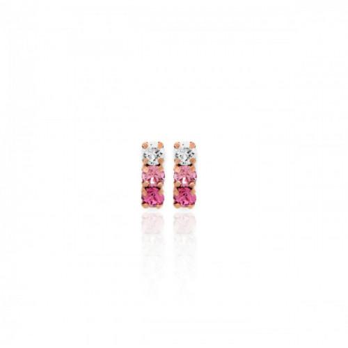 Pendientes Celine minis oro rosa