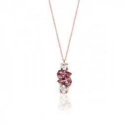 Pink Gold Necklace Celine Beatriz