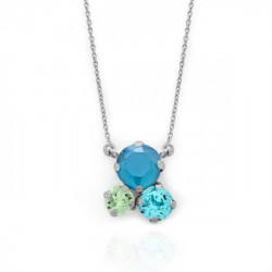 Collar azure blue de Celine en plata