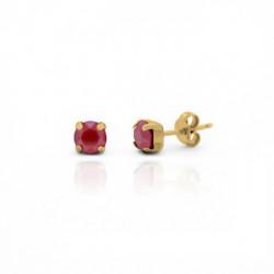 Gold Earrings Celine mini