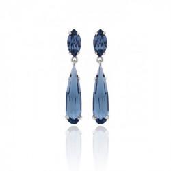 Silver Earrings Celine Drops mini