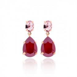 Pink Gold Earrings Celine