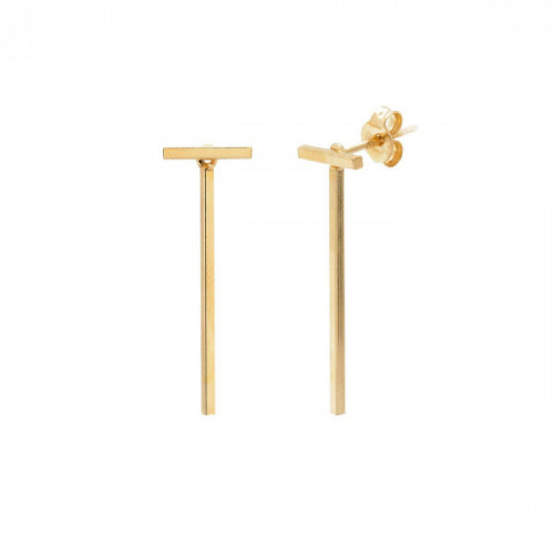 Gold Earrings bar