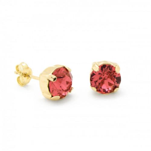 Gold Earrings Celine Basic Light Siam