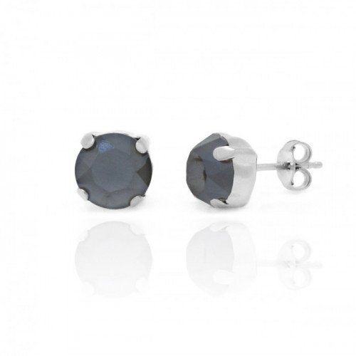 Silver Earrings Celine Basic M