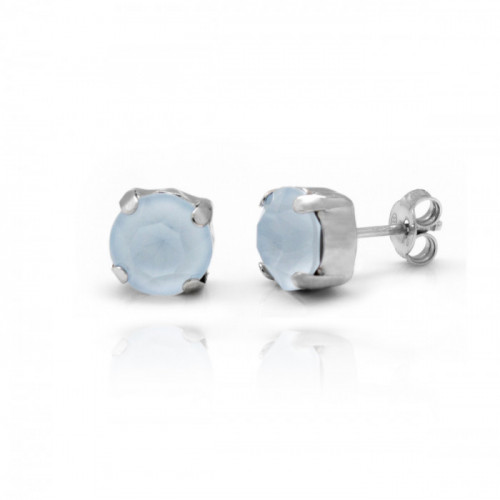 Silver Earrings Celine Basic M