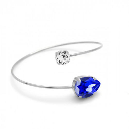 Silver Bracelet Celine Majestic Blue