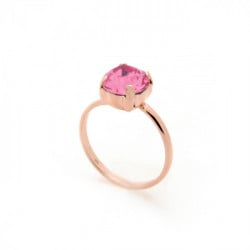 Celine rose ring in gold