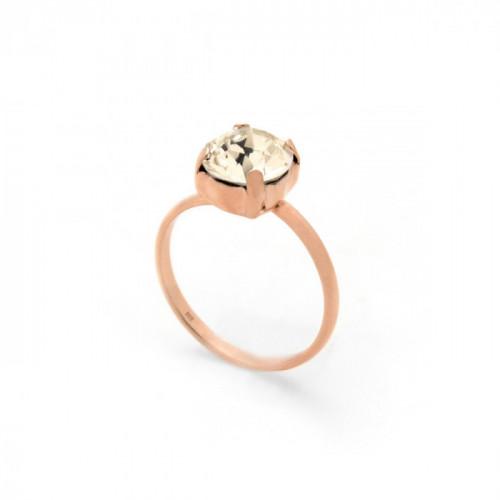 Celine light silk ring in rose gold