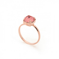 Anillo light peach de Celine en oro rosa