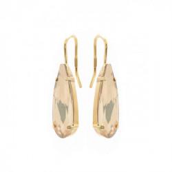 Gold Earrings Celine drop