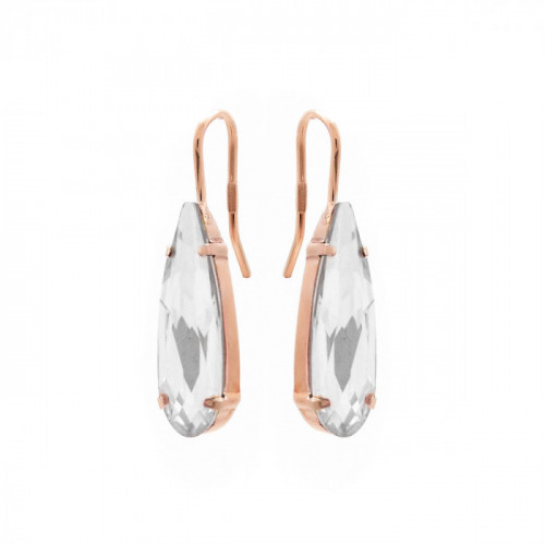 Pink Gold Earrings Celine drop