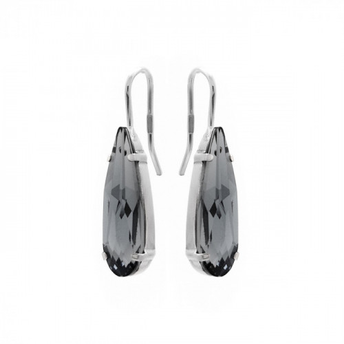 Silver Earrings Celine drop