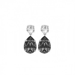 Silver Earrings Celine teardrop