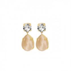 Gold Earrings Celine teardrop