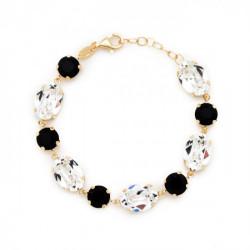 Gold Bracelet Celine oval