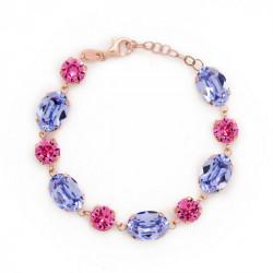 Pink Gold Bracelet Celine oval