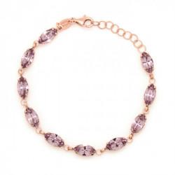 Pink Gold Bracelet Celine marquise