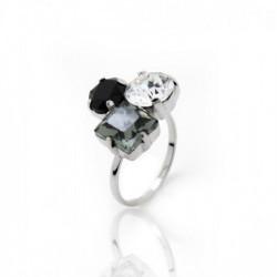 Celine diamond ring in silver
