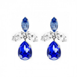 Silver Earrings marquise