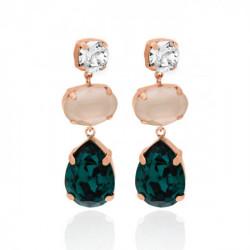 Pink Gold Earrings Celine s