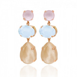 Pink Gold Earrings Celine s