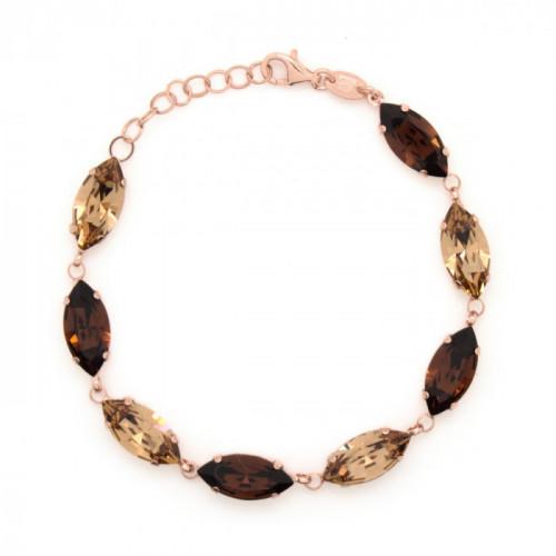 Pink Gold Bracelet Celine marquise L