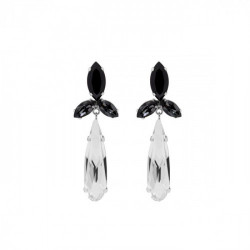 Silver Earrings Celine Shine