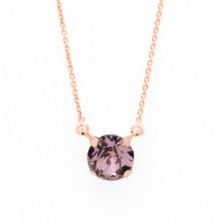 Pink Gold Necklace Celine Basic