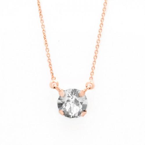 Pink Gold Necklace Celine Basic