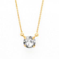 Collar cristales crystal de Celine en oro