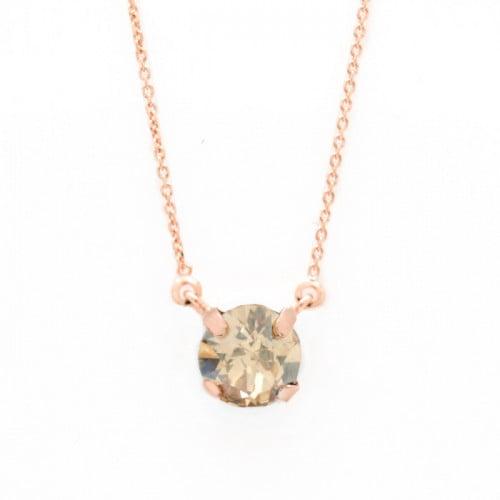 Collar Celine Basic oro rosa