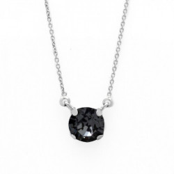 Silver Necklace Celine Basic